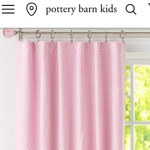 Pottery barn kids blackout curtain set of 2